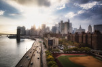 As the sun goes down