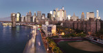 Sunrise in Manhattan